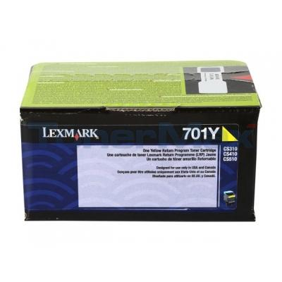 LEXMARK CS410 RP TONER CART YELLOW 1K